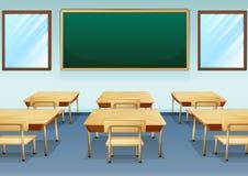一间教室 免版税库存照片