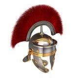一件罗马盔甲的被隔绝的3d例证 库存图片