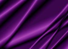 一件紫色丝织物的纹理 免版税图库摄影