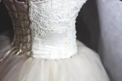 一件weding的礼服 图库摄影