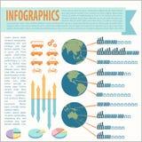 一infographics 免版税图库摄影