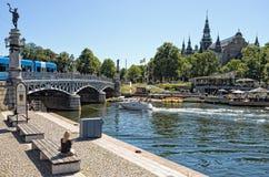 一suuny天@ DjurgÃ¥rden,斯德哥尔摩,瑞典 免版税库存图片