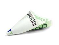 一undred的票据欧元 免版税图库摄影