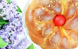 丁香和复活节面包 库存图片
