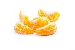 丁香被隔绝的橘子 免版税库存照片