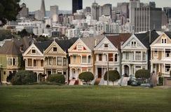 七个姐妹在旧金山 库存图片