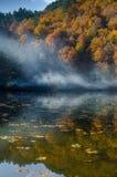 七个湖-从博卢土耳其的Yedigoller 免版税库存图片