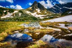 七个Rila湖在保加利亚 免版税库存照片