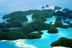 七十个海岛 库存照片
