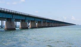 七英里桥梁外形 库存照片