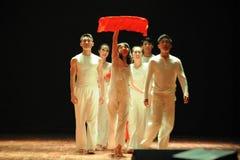 七年现代舞蹈 免版税图库摄影