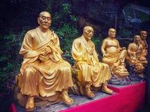 万佛寺在香港 库存照片