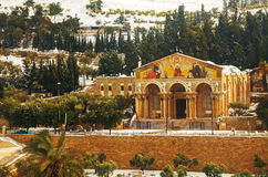万国教堂在耶路撒冷 免版税图库摄影