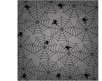 万圣夜与组装的蜘蛛网 免版税库存照片
