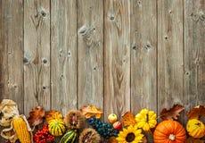 万圣夜和感恩的五颜六色的背景 库存图片