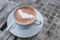万圣夜棒咖啡 库存图片