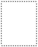 万圣夜蜘蛛边界 免版税库存图片