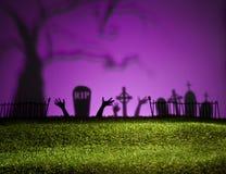 万圣夜风景 免版税库存图片