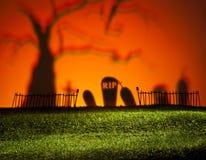 万圣夜风景 免版税图库摄影