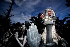 万圣夜鬼魂泰国 免版税库存图片