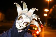 万圣夜,萨格勒布,克罗地亚 免版税库存照片