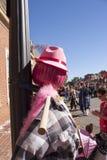 万圣夜Happyfest游行在Warrenton, VA 免版税库存图片