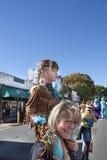 万圣夜Happyfest游行在Warrenton, VA 库存图片