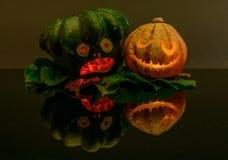 万圣夜pumpkins_02 库存图片