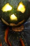 万圣节例证南瓜被设置的向量 库存照片