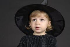 万圣节小巫婆 免版税库存照片