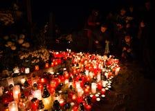 万圣节, Pezinok,斯洛伐克 免版税库存照片