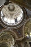 巴黎万神殿内部 免版税库存照片