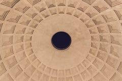 万神殿圆屋顶-罗马 免版税库存照片