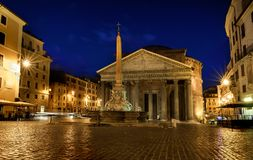 万神殿在意大利 图库摄影