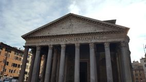 万神殿在罗马 图库摄影