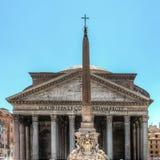 万神殿在罗马 库存图片