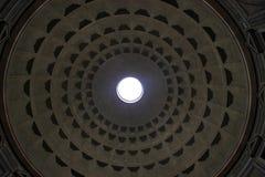 万神殿的天花板 库存图片