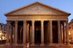 万神殿罗马 免版税图库摄影