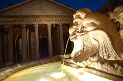 万神殿罗马 免版税库存照片