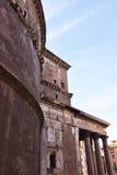 万神殿,罗马意大利 免版税图库摄影