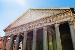 万神殿,罗马, 免版税库存照片
