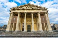 万神殿,巴黎法国 免版税图库摄影