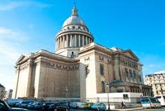 巴黎万神殿 免版税库存图片
