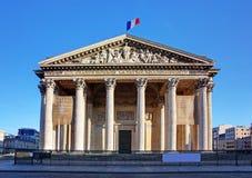 巴黎万神殿 库存照片