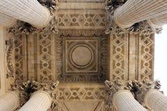 万神殿巴黎 免版税库存照片