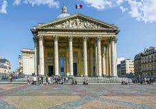 巴黎万神殿 免版税图库摄影