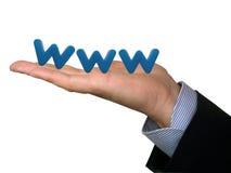 万维网 免版税图库摄影