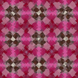 万花筒低多三角样式传染媒介马赛克 图库摄影