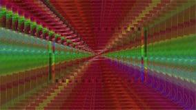 万花筒动态未来派梦想的闪烁样式背景 向量例证