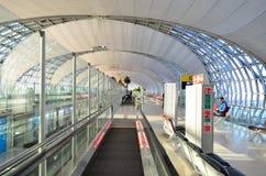 素万那普曼谷机场 免版税库存图片